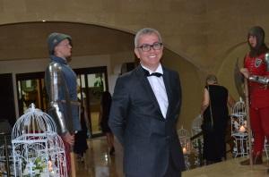 Ismet Esenyel greets the guests