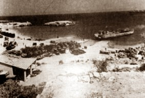 Landing at Escape Beach 1974