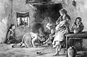 The Irish famine 1845