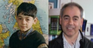 Ismail Veli as a young boy and as a historian of the Families of Lurucina