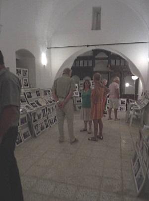 Visitors enjoying the exhibition