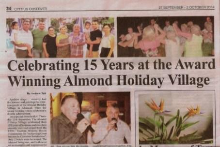 Award Winning Almond Holiday Village