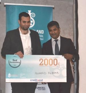 Best Documentary award - Ahmet Albakri