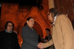 Meral Eroğlu congratulates Benice Gümrükçüoğlu
