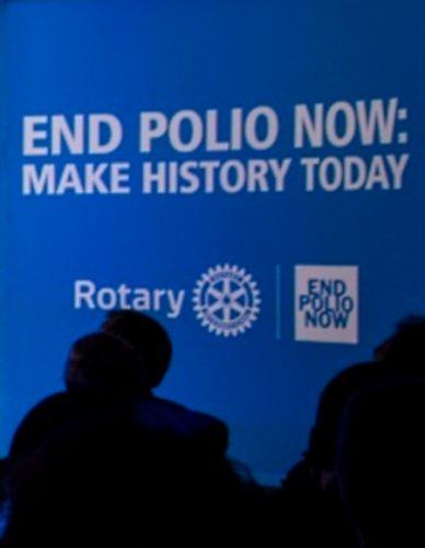Rotary - End Polio Now