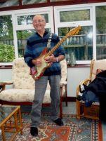 Russell plays Brenda the Fender