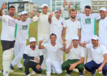 TRNC CC Haapy with a big win image