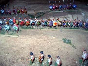 Ancient Greeks at Plataea 479 BC