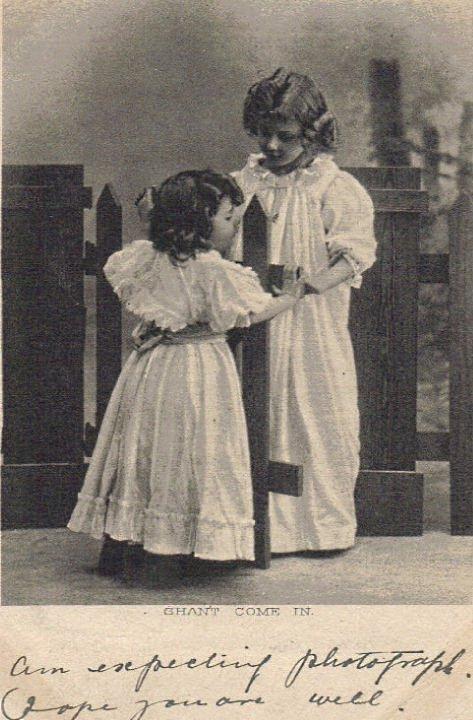 A card to W. A Thatcher, West Peckham dated April 28 1904