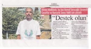 50km for Kemal Saracoglu