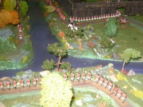 American war of Independence. late 1700s