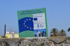 EU project to refurbish Agios Afksentios Church in Komi Kebir