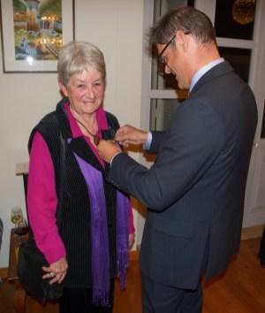 Presentation of the Order of Merit