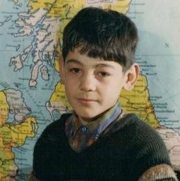 Ismail Veli as a boy