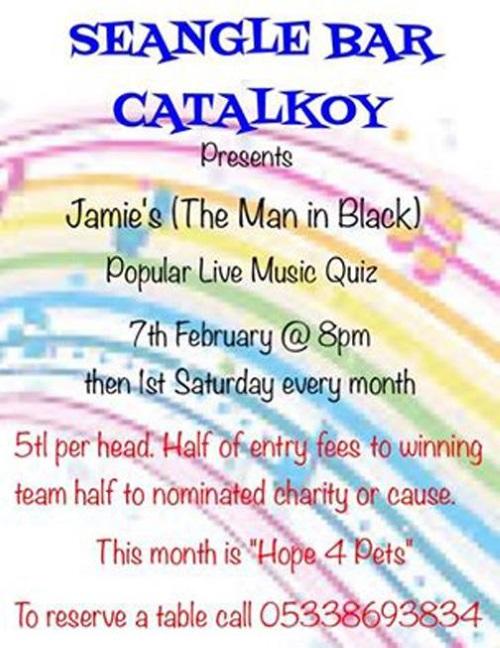 Jamie Charity Night