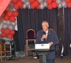 Rotary Chairman, Malcolm Mitcheson