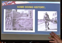 Some diving history