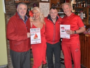 Andrew sings..... with the Lady and Lads in Red (1)