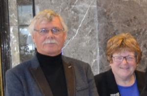Trevor and Mary Hughes