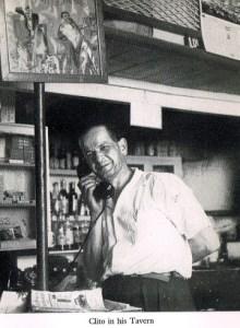 Clito in his Tavern