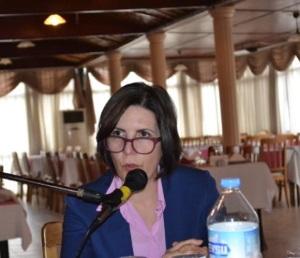 Dr Sibel Siber talks to TFR members