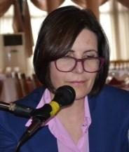 Dr Siber gives a talk
