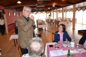 Heinz Nauroth welcomes Dr Siber