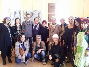 Thursday Art Group visiting