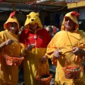 2 Chickens and Pooh Bear