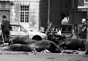 Bombing Hyde Park Corner