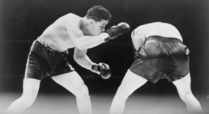 Joe Louis v Max Schmeling the first fight in 1936