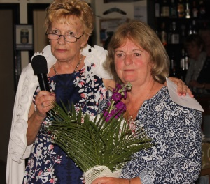 Mary Watson and Pam Kennedy