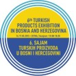 6th Turkish Produce Fair in Bosnia