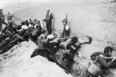 Armenian militia in the city of Van