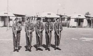 Guard of Honour HQ 50. IND INF Brigade