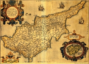 Map of cyprus 1