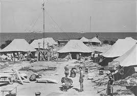 Tents in Camp