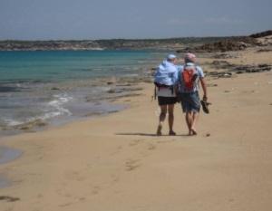 Walking around the Mediterranean