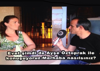 Ayse Oztoprak co-organisor of the 1st North Cyprus Yoga Festival image