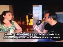 Ayse Oztoprak co-organisor of the 1st North Cyprus Yoga Festival