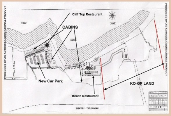 Esentepe Beach Plans