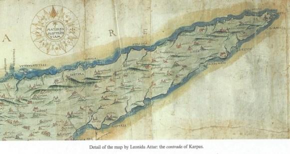 Karpaz map by Leonida Attar