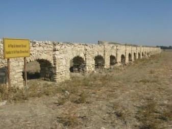 Melusha's Ottoman aqueduct