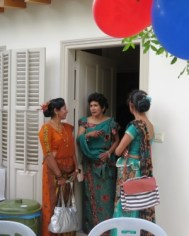 Ladies in National Costume
