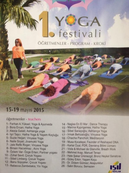 The 1st Yoga Festival at the Olive Tree Hotel