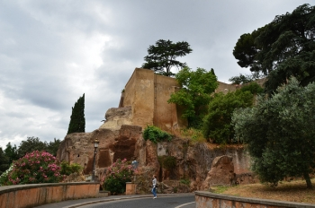 The Tarpeian Rock as it is today