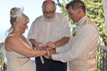Tying the knot picture courtesy of Jean Clark