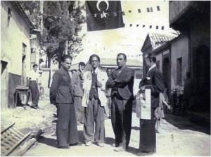 Ahmet Rasim in white jacket