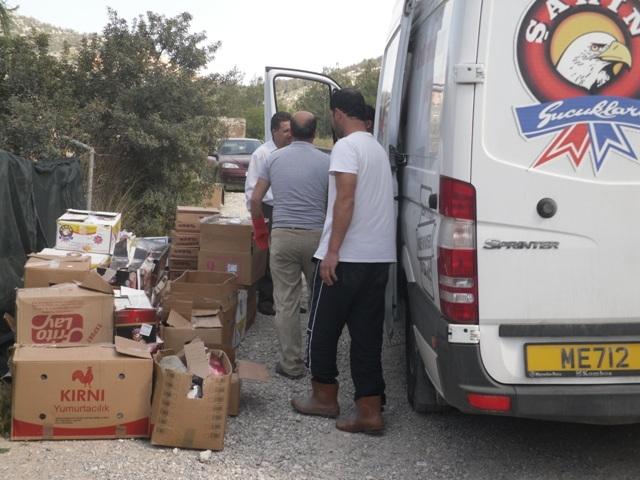 Bringing supplies to KAR rescue center