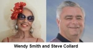 Wendy Smith and Steve Collard